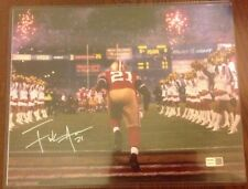 Frank Gore S.F. 49ers Hand Signed 11x14 Photo Tristar Authenticated HOF