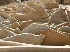 50m2 Bodenplatten 8-12mm Terrassenplatten Naturstein Kalkstein Polygonalplatten