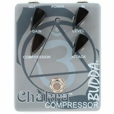 Budda Chakra Compressor Gain Attack Level Control Guitar Effect Stompbox Pedal