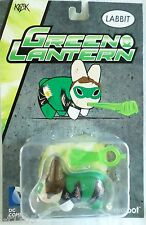 "DC Comics Kidrobot Labbit Green Lantern 2.5"" Kozik Vinyl Figure Rabbit Batman"