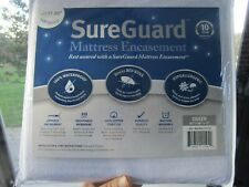 Queen SureGuard (17-20�) Mattress Encasement Waterproof Hypoallergenic Bed Cover