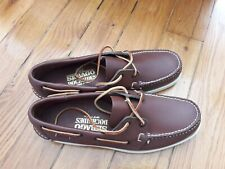 SEBAGO DOCKSIDES Chaussures bateau 8.5 W / taille 42.5   made in USA Brown Elk