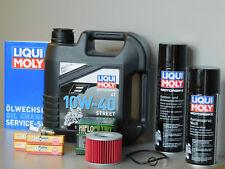 Sistema de mantenimiento YAMAHA XJR 1300 Filtro aceite bujía Servicio Inspección