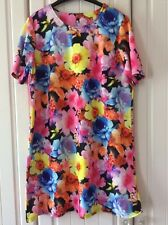 South Floral Stretch Summer Dress Size 18