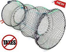 Heavy Duty Crab Trap Net for Crab Prawn Shrimp Crayfish Lobster Fishing Pot New