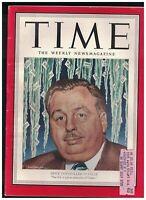 Time Magazine March 19 1951 MIchael Di Salle Albert Einstein Jersey Joe Walcott