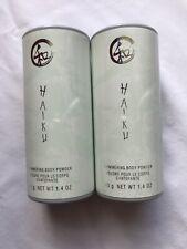 Lot of 2 - Avon Haiku Shimmering Body Powder Talc - 1.4 oz - New & Sealed