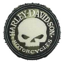 Harley-Davidson Genuine Camo Willie G Skull Frayed Emblem Patch 3.5 Inch