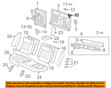 Saturn GM OEM 01-05 L300 Rear Seat-Latch Assembly Left 22702245