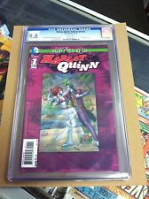 Harley Quinn:Futures End 3D #1.First printing.CGC 9.8.