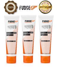 3 X Official Fudge New Blow Dry Putty 75ml - BEST DEAL