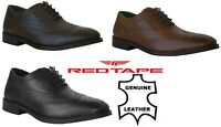 Mens Gents Leather Casual Oxford Lace Up Smart Formal Office Party Brogues Shoes