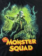 """New! Exclusive """"Monster Squad"""" Horror Monster Movie Shirt Size 2XL Fright Crate"""
