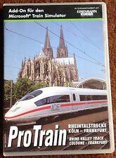 ProTrain Rheintalstrecke Köln-Frankfurt Add-On für den Microsoft Train Simulator