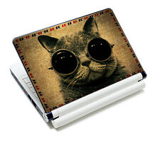 """Cat Decal Sticker Skin For 11.6"""" 13"""" 14"""" 15"""" 15.6"""" Sony HP Dell Acer ASUS Laptop"""