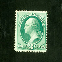 US Stamps # 158 F-VF Fresh color dist OG LH Scott Value $110.00