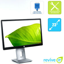 "HP EliteDisplay E232 23"" Widescreen FHD 1920x1080 LED IPS Monitor HDMI - Grade B"