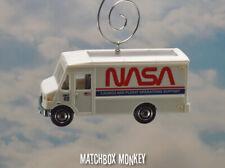 NASA Systems Control Truck Transfer Van Christmas Ornament Adorno Space Apollo