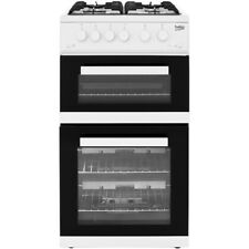 Beko KDG582W Free Standing Gas Cooker with Gas Hob 50cm White New