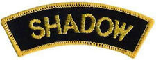 Shadow Shoulder Embroidered Patch