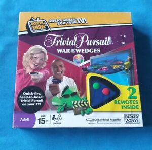 Trivial Pursuit DVD Game - War of the Wedges 100% Complete Batteries Required