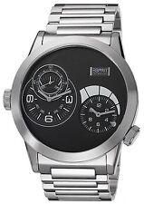 XXL BIG Esprit Collection Herrenuhr Uhr Zelos black Ø48mm Edelstahl EL101271F05