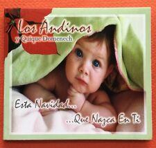 Los Andinos Quique Domenech Esta Navidad Que Nazca En Ti CD 2011 LA Puerto Rico