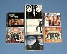 JUSTIN TIMBERLAKE/ NSYNC---7 CD LOT---CELEBRITY+20/20 EXPERIENCE+ JUSTIFIED