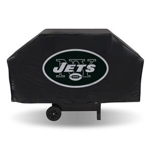 """NEW YORK JETS ECONOMY GRILL COVER  VINYL 68"""" BBQ COVER FREE SHIPPING"""