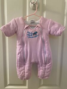 Baby Merlin's Magic Sleepsuit Pink Size Small 3-6 Months 12-18 lbs