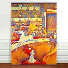 "Georges Seurat Circus ~ FINE ART CANVAS PRINT 36x24"""