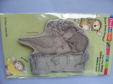 HOUSE MOUSE RUBBER STAMPS CLING BIRDIE KISS NEW cling STAMP