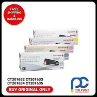 New Original Xerox CT201632-CT201635 Full Toner Set CMYK DocuPrin CP305D CM305DF