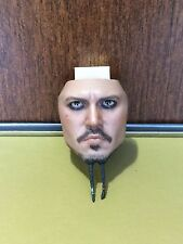 1/6 scale Hot Toys DX06 Pirates Of The Caribbean Jack Sparrow normal face sculpt