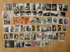 Konvolut Sammlung 64 x altes Foto alte Fotos Menschen Personen DDR Ausflug Feier