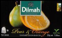 DILMAH Tee - Pear & Orange Flavoured Black Ceylon Tea 20 Teebeutel