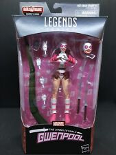 Marvel Legends Spider-Man Wave 9 Lizard BAF Series GWENPOOL FIGURE