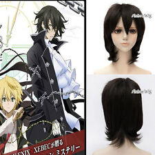 Pandora Hearts  Gilbert Nightray Anime Cosplay Wig Perücke Kostüm kurz schwarz