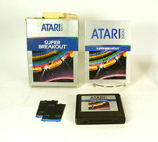 Vintage Boxed Atari 5200 game Super Breakout Tested & Working