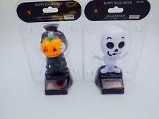 Lots2 Solar Powered Happy Halloween  Dancing Headless Pumpkin Mummy