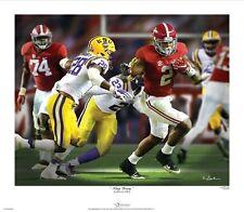 "Greg Gamble ""King Henry"" Alabama Football Print"