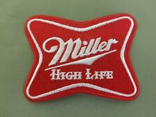 Miller High Life Beer embroidered patch