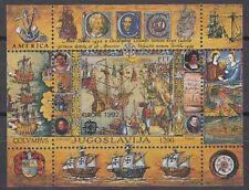 JUGOSLAWIEN, 1992 Europa-Cept Block 41 **, (21442)