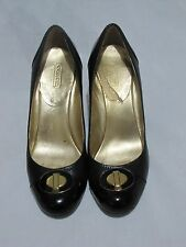 Coach Women's Black Heels Shoes 7.5 B