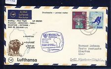 53796) LH FF München - Khartoum 5.4.68, SoU ab Jena DDR