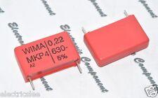 2pcs - WIMA MKP4 0.22uF (0,22µF 220nF) 630V 5% pitch:22.5mm Capacitor
