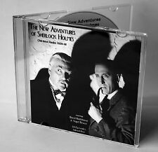 The New Adventures of Sherlock Holmes - Old-time Radio CD (Advert-free episodes)