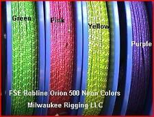 3mm x 100 ft Neon Yellow Orion 500 - FSE Robline rope cord OR5-3YB