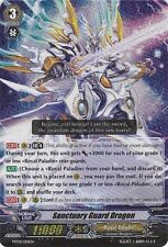 Cardfight Vanguard Royal Paladin Sanctuary Guard Dragon MT01/001EN Near Mint