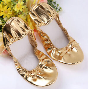 Adult Belly Dance Shoes Girls Kids Indian Shoes Dance Wear Shoes PU Leather